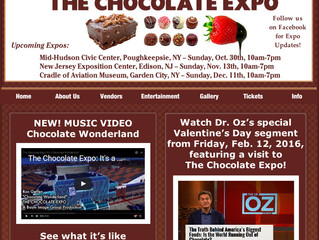 The CHOCOLATE EXPO 2016 in New Jersey!
