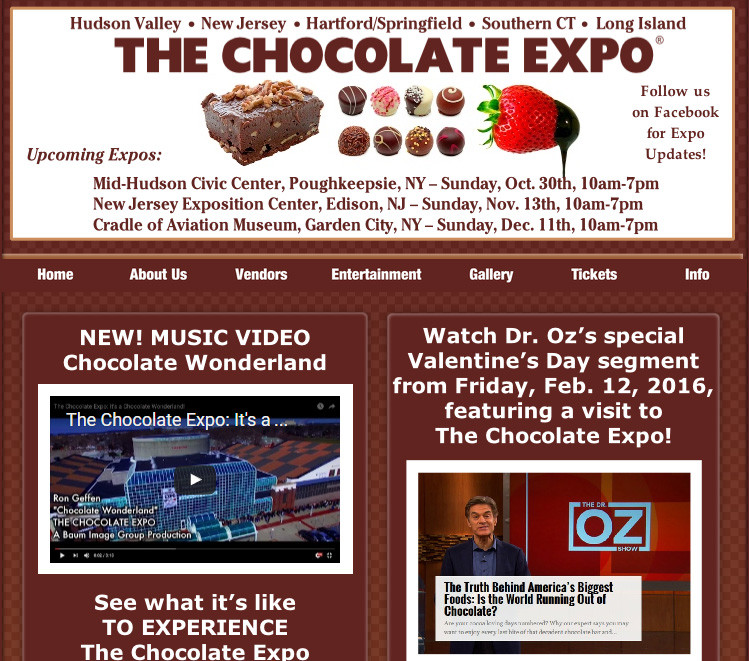 The chocolate expo 2016 New Jersey