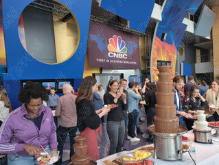 Chocolate Terrace INC for CNBC first in business worldwide!