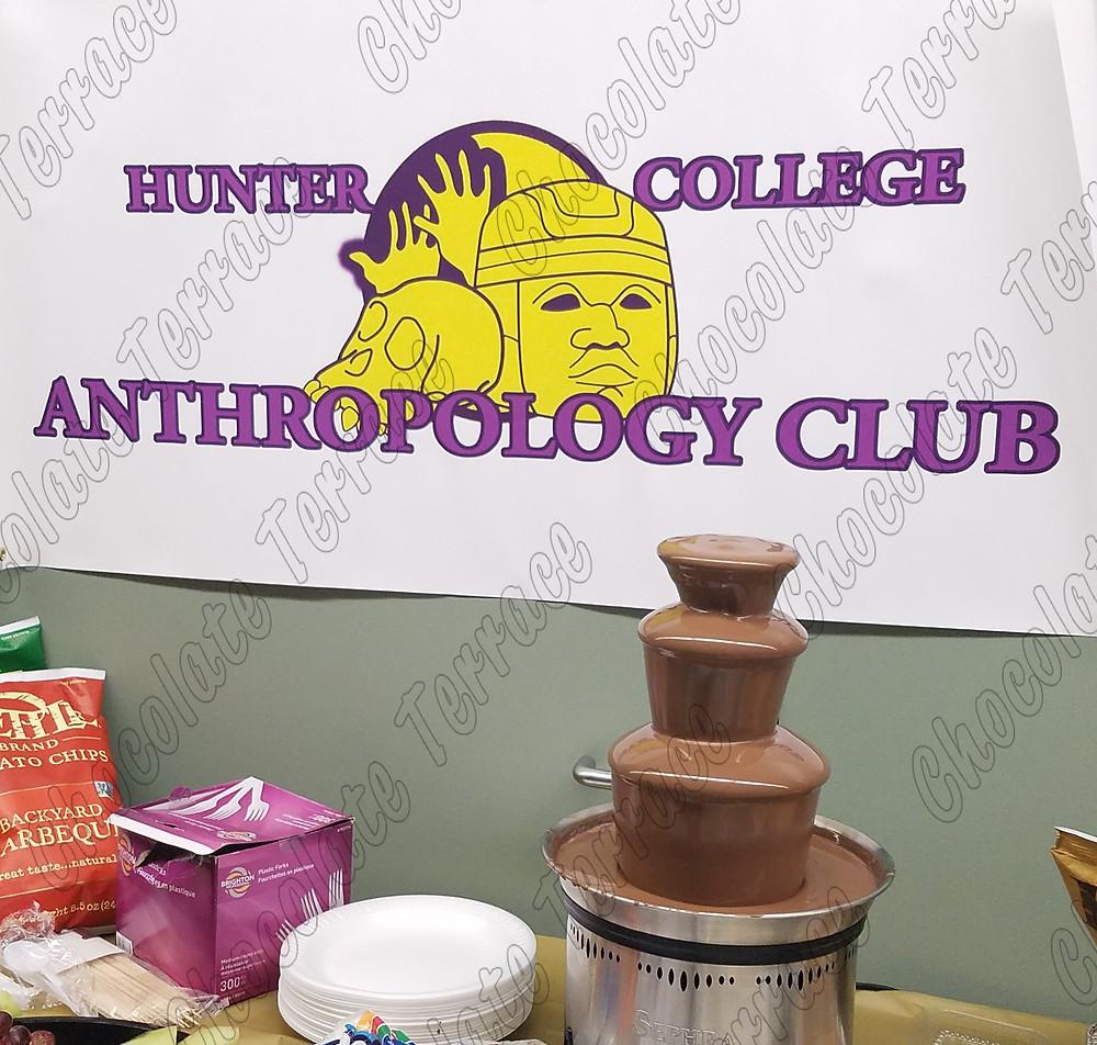 Hunter college chocolate fondue fountain