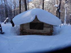 Kamchatka hunting cabin