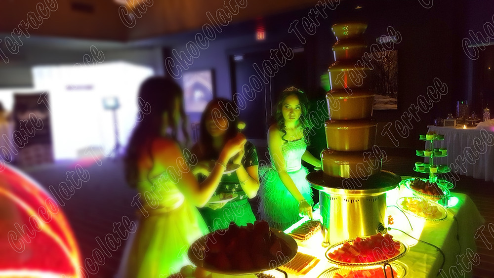 Sweey16 new york chocolate fountain rent