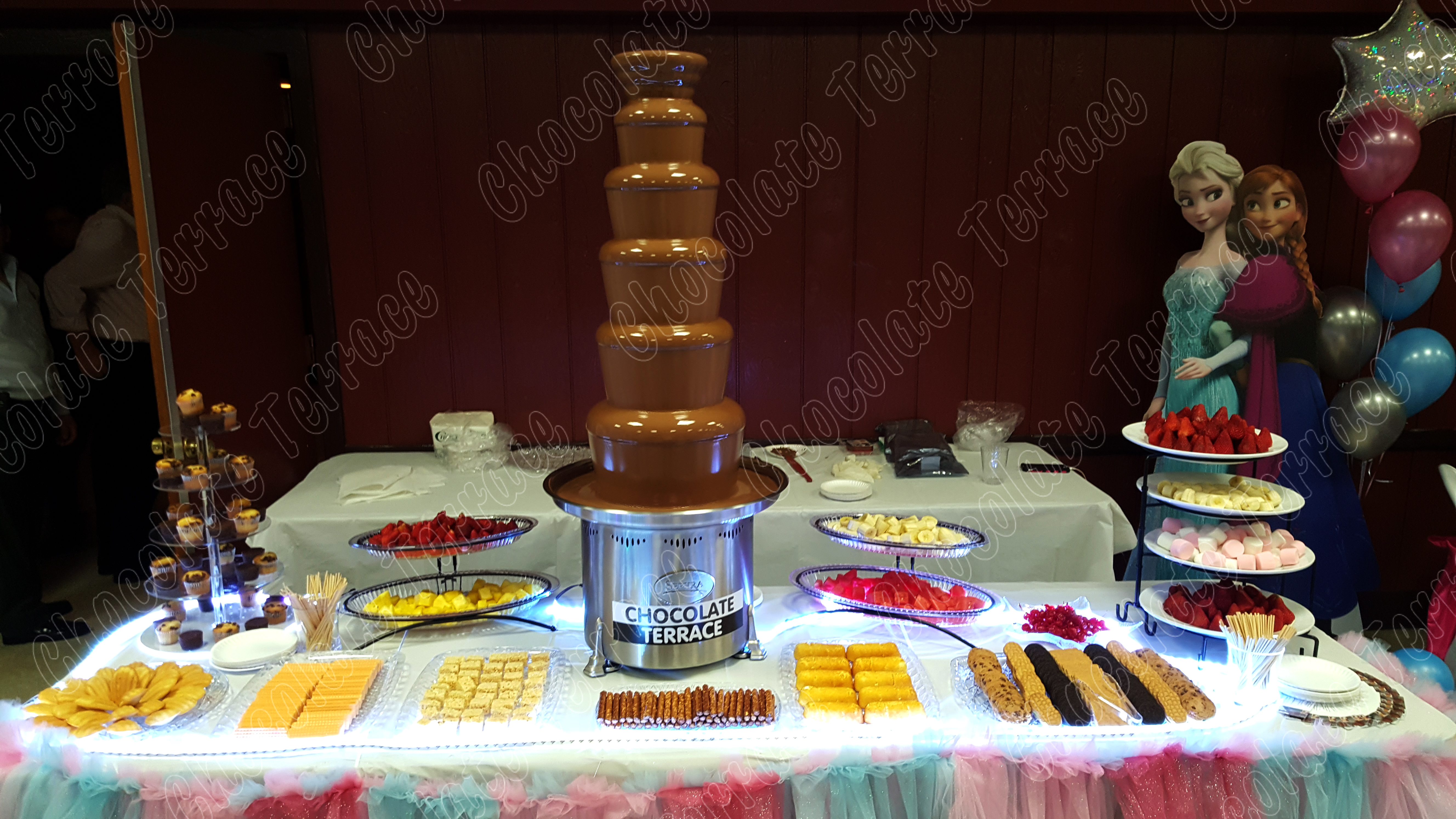 Best NY chocolate fountain rental