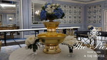 Golden & Silver champagne fountain rental New York!