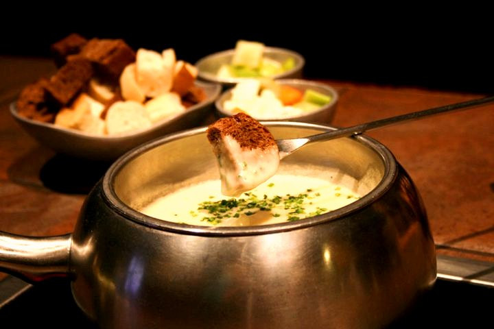 Cheese fondue rent for office happy hour in New York and New Jersey