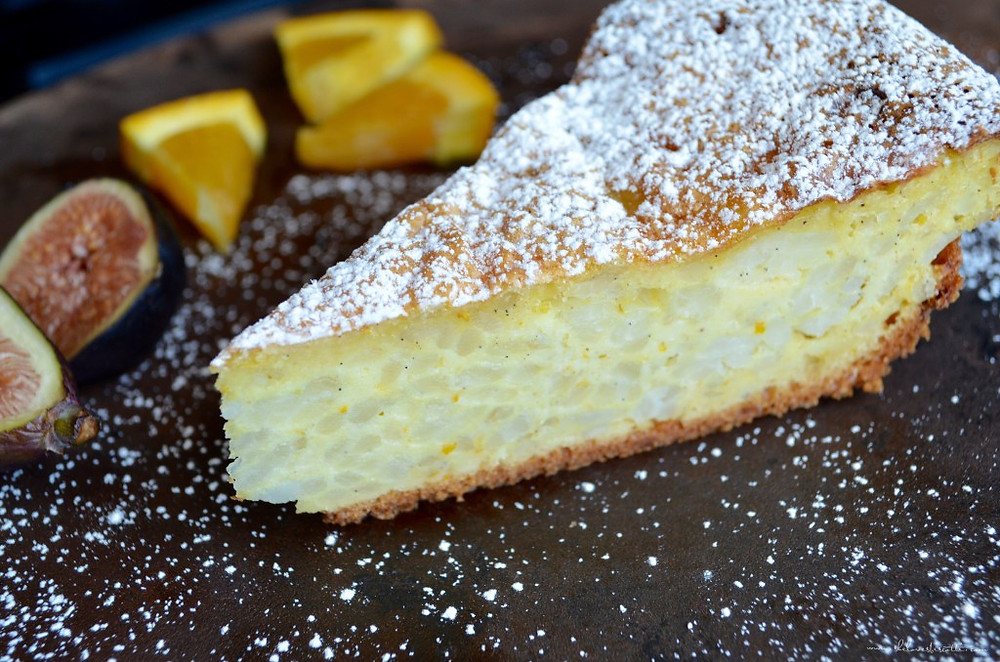 Ricotta Pie with CHOCOLATE TERRACE from New York