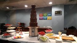Chocolate fondue in Manhattan