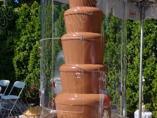Back to school Chocolate Fountain!