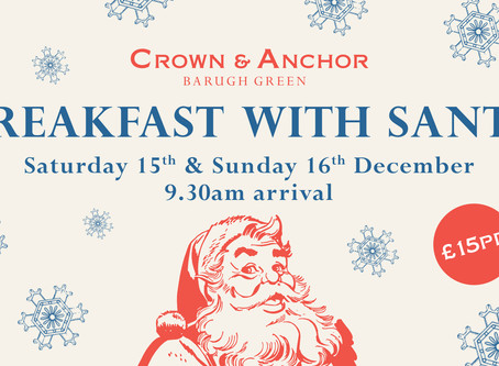 Breakfast with Santa back for 2018