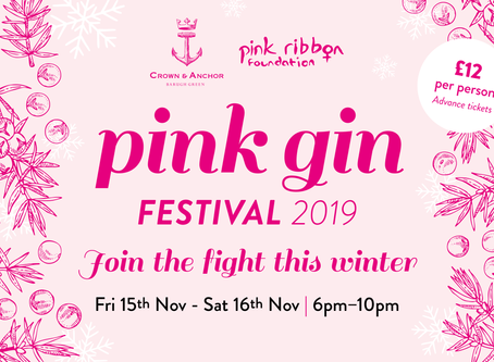 Party the night away with our first Pink Gin Festival