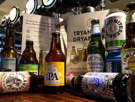 Dry January, Tryanuary or Ginuary? We've got you sorted