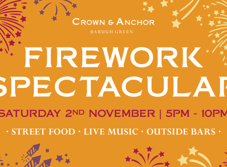 Firework Spectacular returns to The Crown!