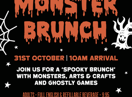 Monster Brunch is coming this Halloween!