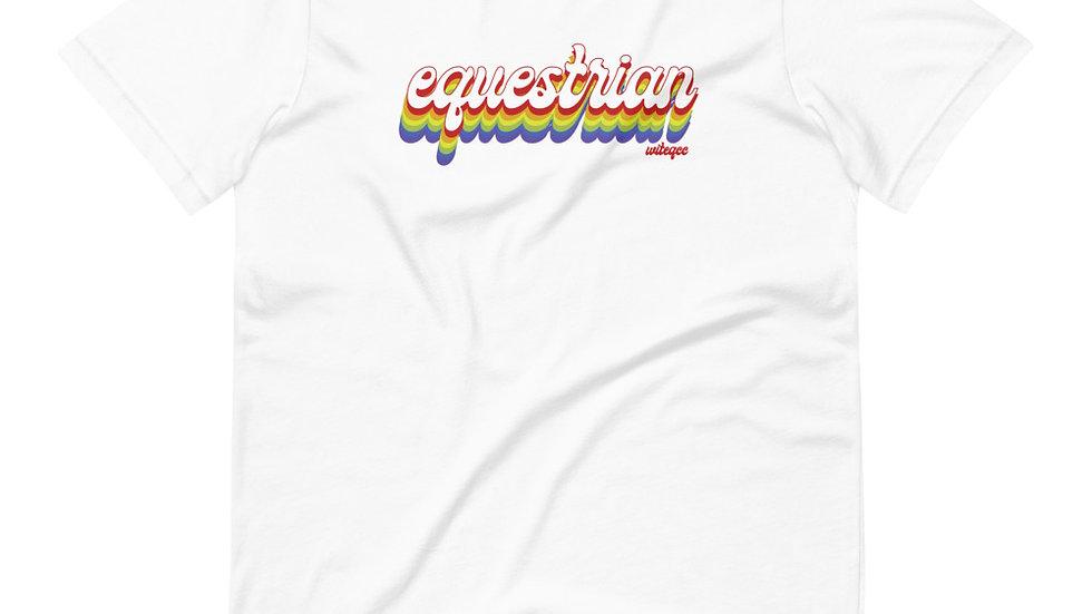 Equestrian PRIDE Short-Sleeve Unisex T-Shirt