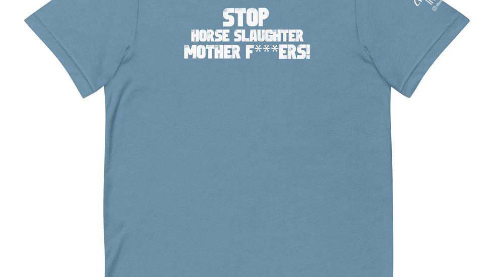 STOP Horse Slaughter! Short-Sleeve Unisex T-Shirt