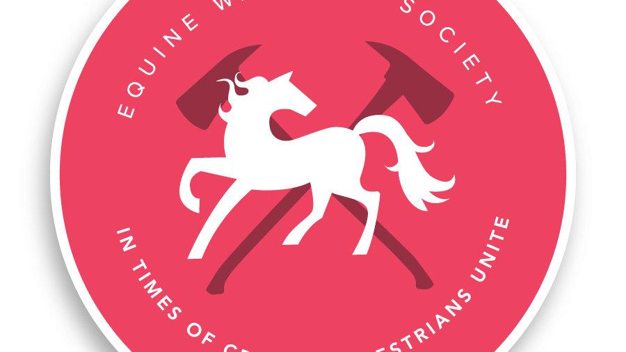 Equine Warrior SocietySticker