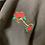 Thumbnail: Bits n Roses Crop Hoodie