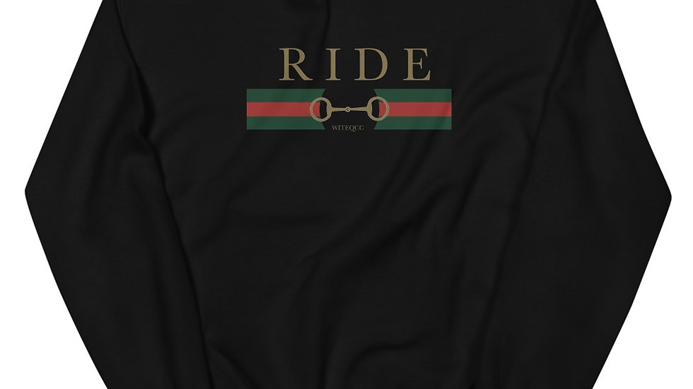 RIDE Printed Crew Neck Sweatshirt