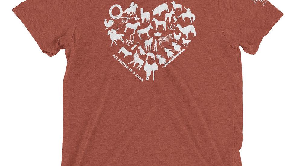 LOVE ASIAB Short sleeve t-shirt