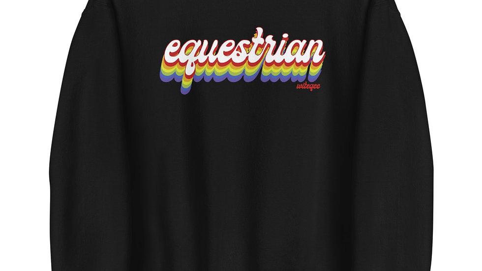 Equestrian PRIDE Unisex Sweatshirt