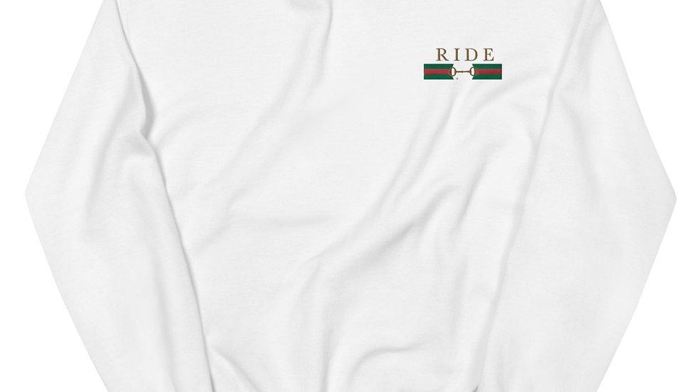 RIDE Embroidered Sweatshirt