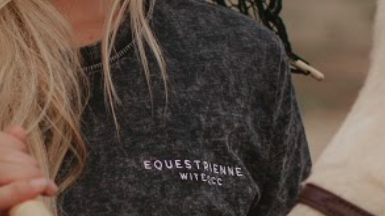 Equestrienne Denim T-Shirt