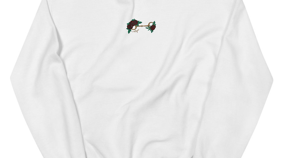 Bits and Roses Unisex Sweatshirt