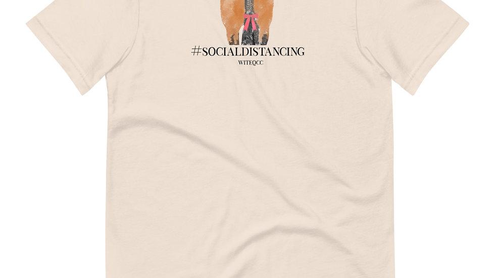 #Socialdistancing Short-Sleeve Unisex T-Shirt