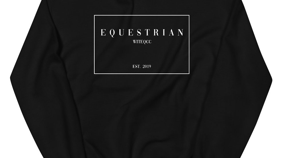 Equestrian High Fashion Unisex Sweatshirt
