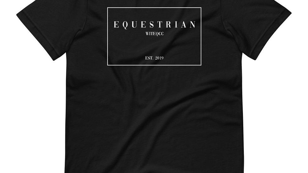 Equestrian High Fashion Style T-Shirt
