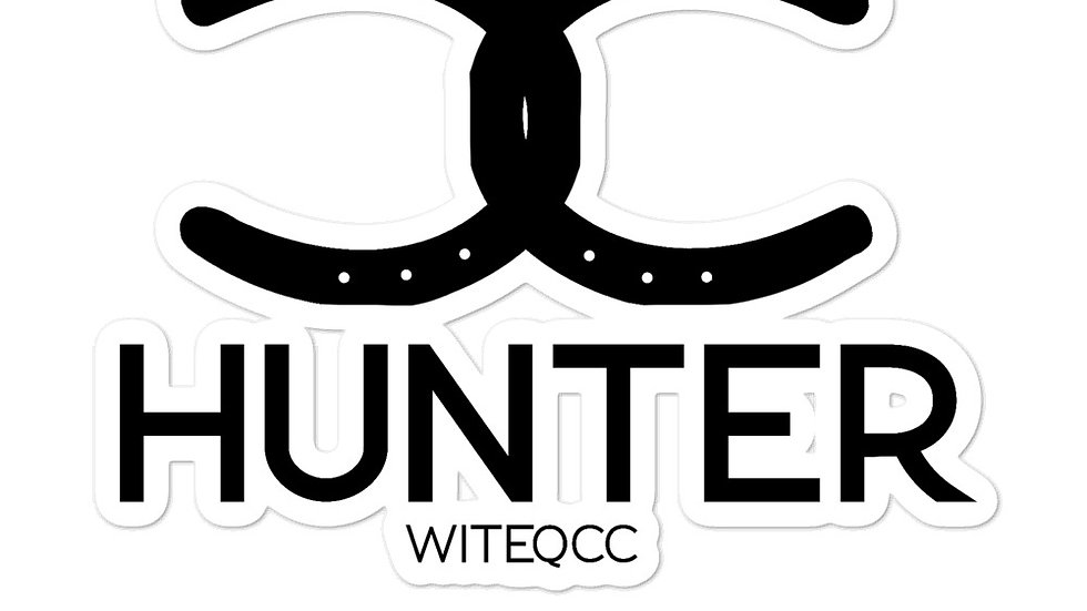 HUNTER sticker