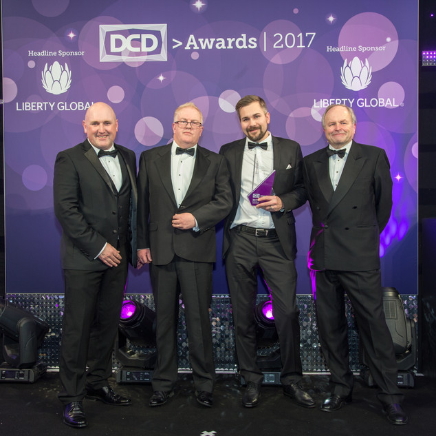 Winner - Data Center Operations Team of  the Year Colo + Cloud