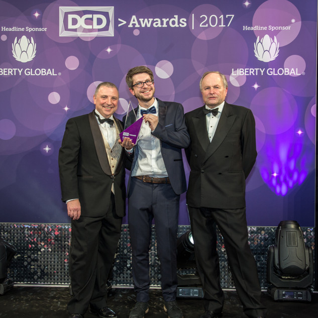 The Open Winner - Data Center Project Awards