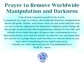 Prayer to Remove Worldwide Manipulation Audio MP3
