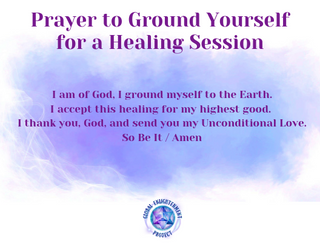 Prayer to Ground Yourself for a Healing