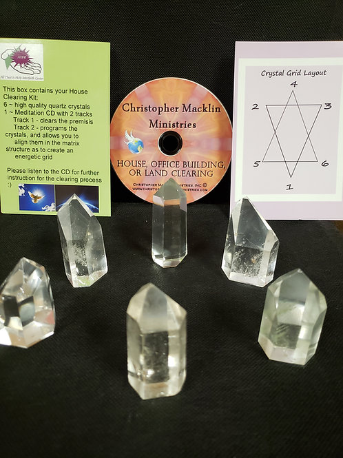 House Clearing Crystal Kit