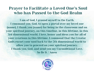 Prayer to Facilitate a Loved One's Soul Audio MP3