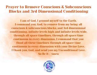 Prayer to Remove Conscious and Subconscious Blocks Audio MP3
