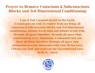 Prayer to Remove Conscious & Subconsciou