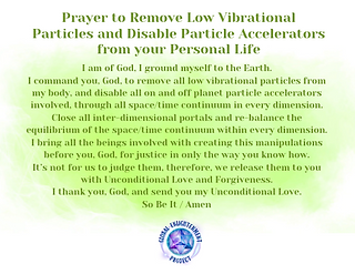 Prayer to Remove Low Vibrational Particles and Accelerators Audio MP3
