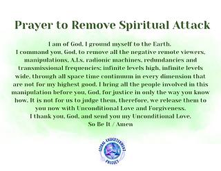 Prayer to Remove Spiritual Attack Audio MP3