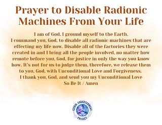 Prayer to Disable Radionic Machines Audio MP3