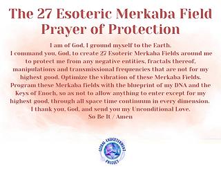 Merkaba Field Prayer of Protection Audio MP3