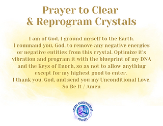 Prayer to Clear and Reprogram Crystals Audio MP3