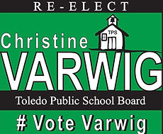 #Vote Varwig logo