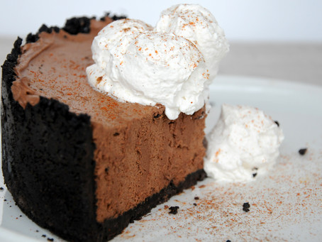 MEXICAN HOT CHOCOLATE MOUSSE PIE
