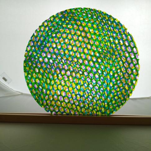 12 inch laser cut - green