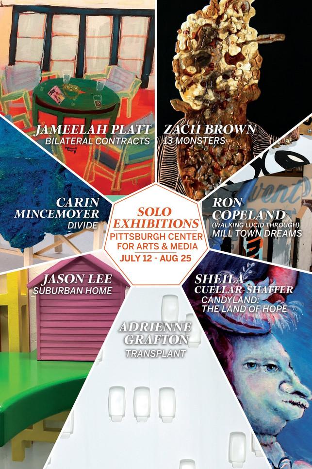 7 Solo Exhibitions