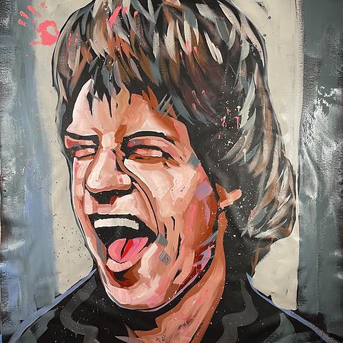 Mick Jagger 62x52