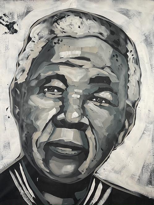 Nelson Mandela 62x52